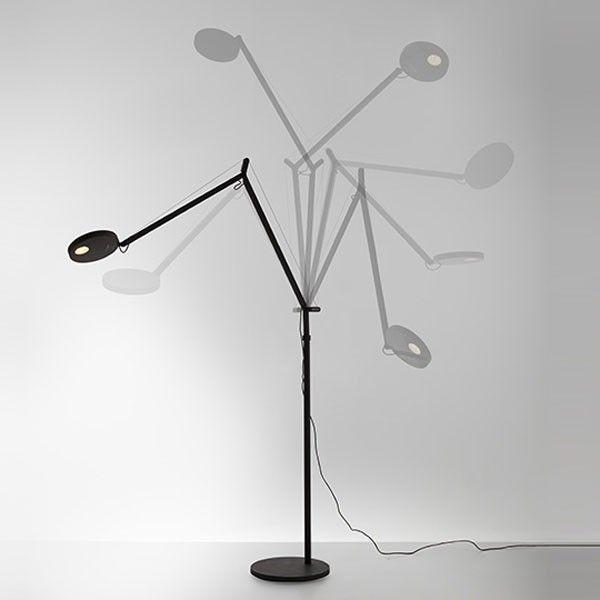 Artemide Demetra Terra vloerlamp LED grijs 2700K - warm wit