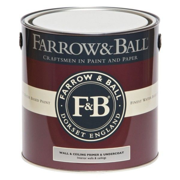 Farrow & Ball Primer en Undercoat muur en plafond, donkere tinten