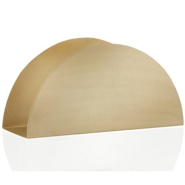 Ferm Living Brass Semicircle Stand opberger