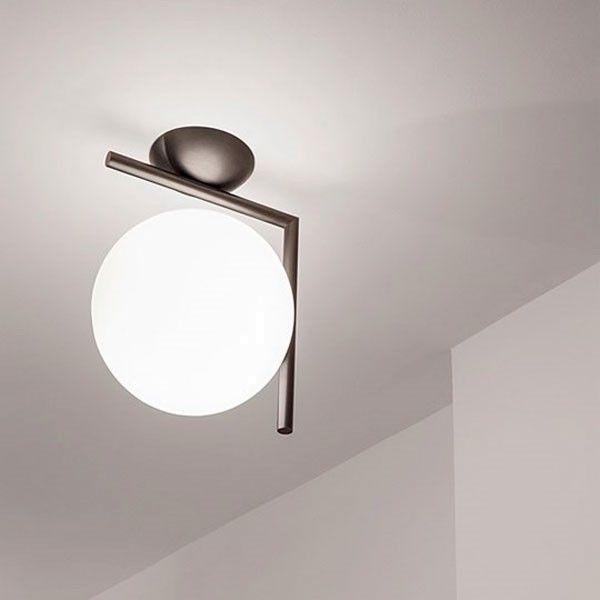 Flos Outlet - IC Lights C/W2 wandlamp chroom