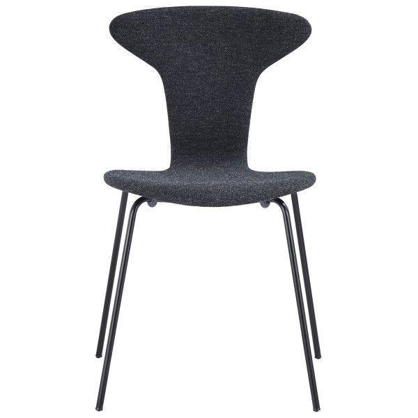 Howe Munkegaard Black stoel gestoffeerd