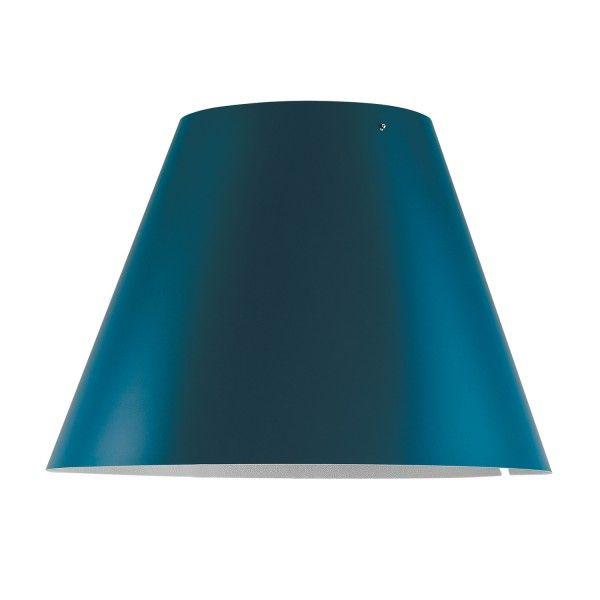 Luceplan Costanzina Radieuse lampenkap petroleum blue