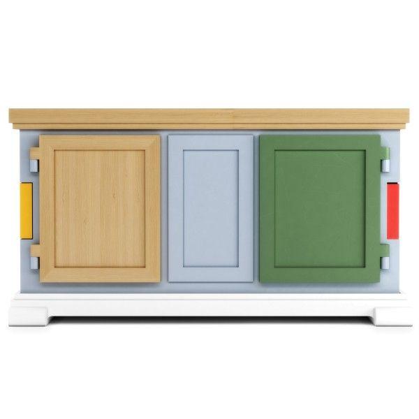 Moooi Paper Buffet Patchwork dressoir