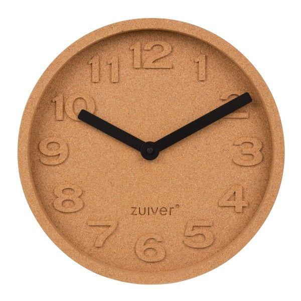 Zuiver Cork Time klok