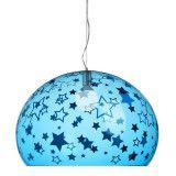Kartell FL/Y Kids Sterren hanglamp small blauw
