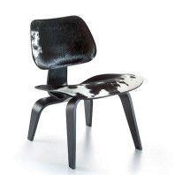 Vitra Eames LCW Calf's Skin loungestoel