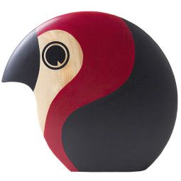 ArchitectMade Discus woondecoratie large rood