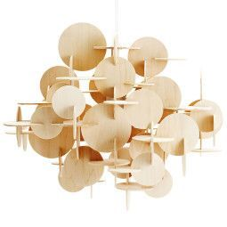 Normann Copenhagen Bau hanglamp large nature