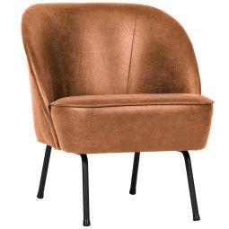 BePureHome Vogue fauteuil leer