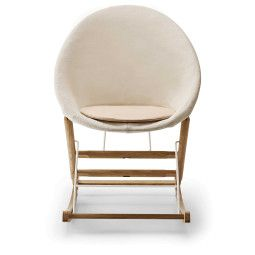 Carl Hansen & Son AB001 Canvas schommelstoel