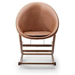 Carl Hansen & Son AB001 Leather schommelstoel