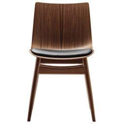 Carl Hansen & Son Preludia wood stoel met zitkussen