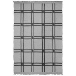 Ferm Living Checked Wool plaid