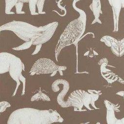 Ferm Living Animals behang