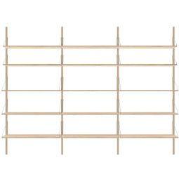 Frama Shelf Library H1852 Triple wandkast