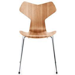 Fritz Hansen Grand Prix Chair stoel naturel fineer