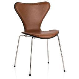 Fritz Hansen Vlinderstoel Series 7 stoel front upholstery