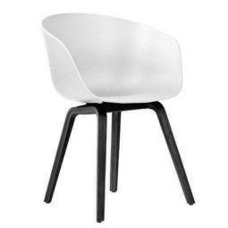 Hay About a Chair AAC22 stoel met zwart onderstel