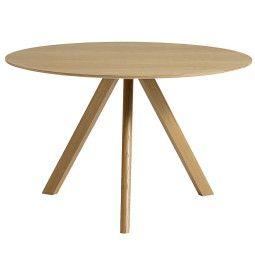 Hay Copenhague CPH20 tafel, gelakt eiken 120
