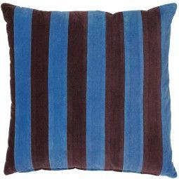 HKliving Striped Velvet kussen 50x50