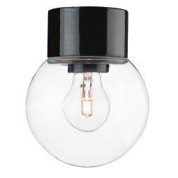 Ifö Electric Classic Globe plafond-en wandlamp porselein IP54 150mm