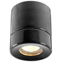 Ifö Electric Light On Downlight plafondlamp porselein IP44