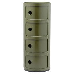 Kartell Componibili kast rond extra large (4 comp.)