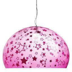 Kartell FL/Y Kids Sterren hanglamp large roze