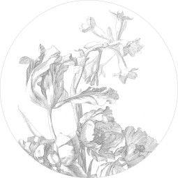 KEK Amsterdam Engraved Flowers behangcirkel 190