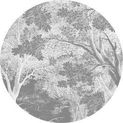 KEK Amsterdam Engraved Landscapes behangcirkel 190
