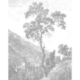 KEK Amsterdam Engraved Tree behangpaneel