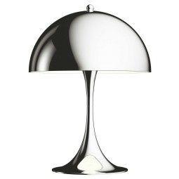 Louis Poulsen Panthella Mini tafellamp LED chroom