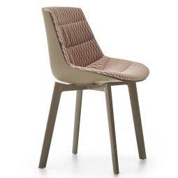 MDF Italia Flow Color Cross gestoffeerde stoel