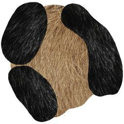 Moooi Carpets Bearded Leopard 2 vloerkleed 150x147