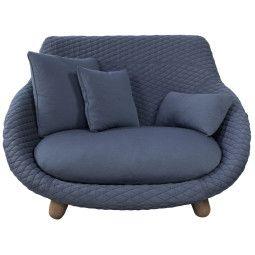 Moooi Love Sofa bank high graphite