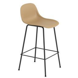 Muuto Fiber Backrest Tube barkruk 65cm