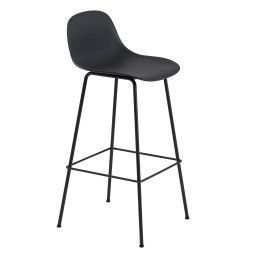 Muuto Fiber Backrest Tube barkruk 75cm