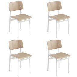 Muuto Set aanbieding Loft stoel (4x)