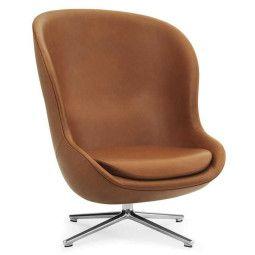 Normann Copenhagen Hyg High Swivel fauteuil