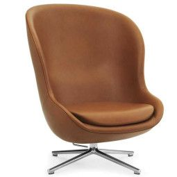 Normann Copenhagen Hyg High Swivel Tilt fauteuil