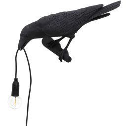 Seletti Bird Looking wandlamp links buiten