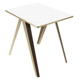 Serax Sanba White Gold tafel 60x75