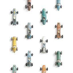 Studio Ditte Raceauto behang