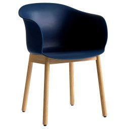 &tradition Elefy JH30 stoel met eiken onderstel