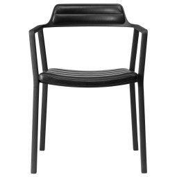 VIPP Vipp451 stoel met armleuning leer