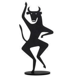 Vitra Bull Silhouette woondecoratie