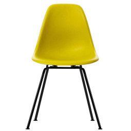 Vitra Eames DSX stoel met zwart gepoedercoat onderstel