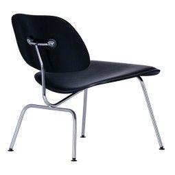 Vitra Eames LCM leather loungestoel