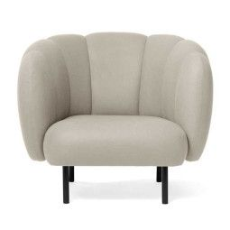 Warm Nordic Cape Lounge fauteuil met stitches
