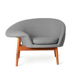 Warm Nordic Fried Egg fauteuil
